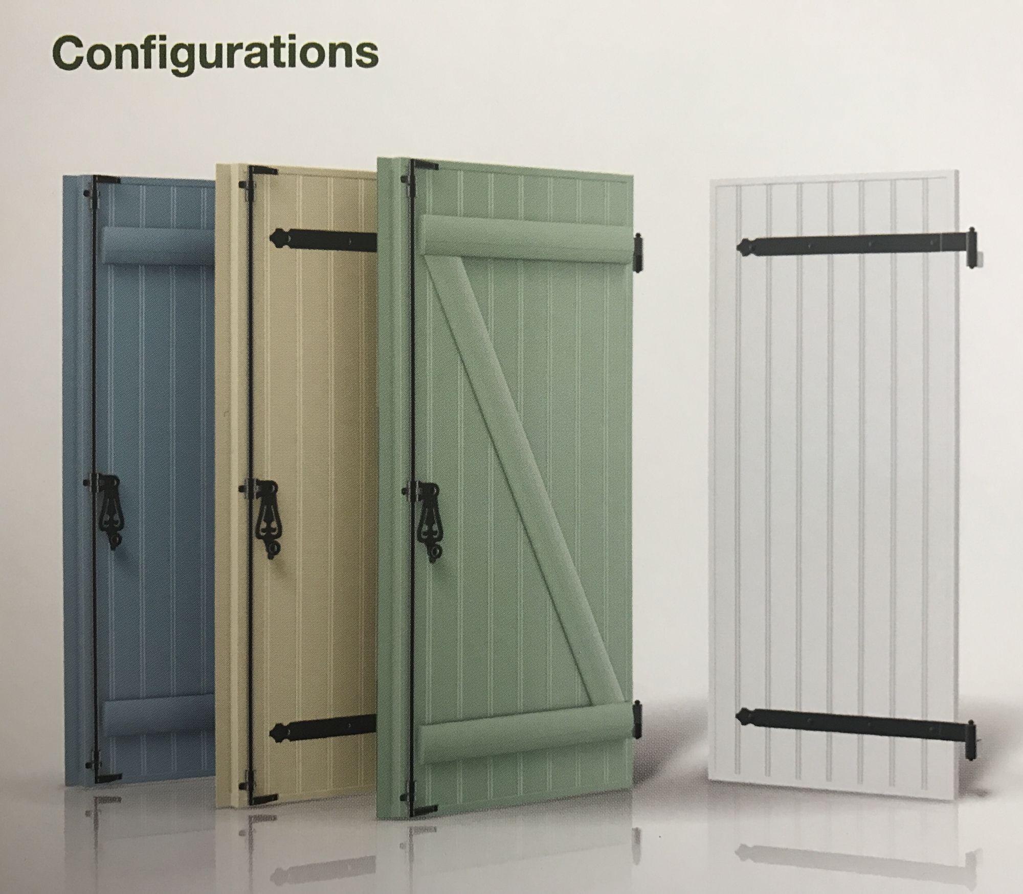 accessoires volets battants pvc. Black Bedroom Furniture Sets. Home Design Ideas